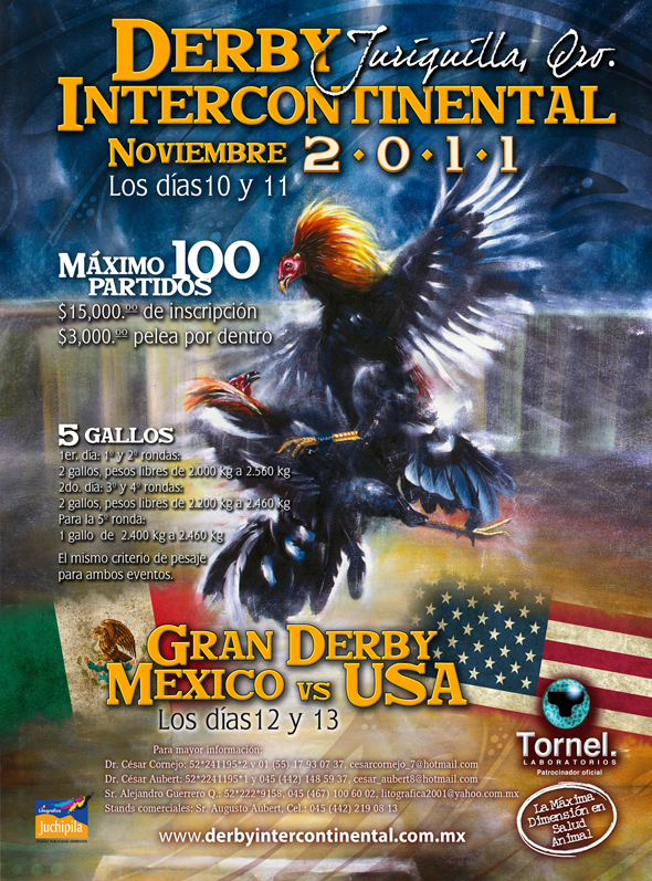Derby Intercontinental Juriquilla & Gran Derby Mexico vs USA to be ...