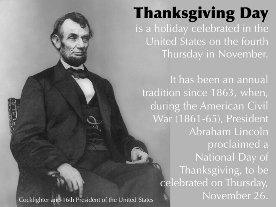 Thanksgiving Day Abraham Lincoln