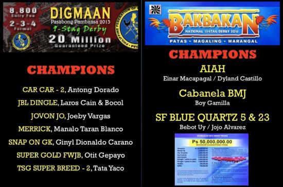 DIGMAAN BAKBAKAN CHAMPIONS 2013