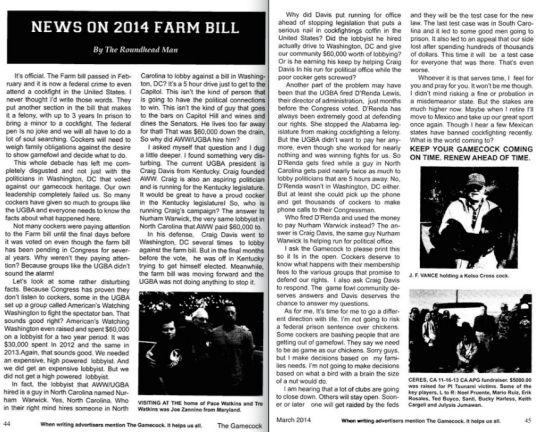 The Gamecock, March 2014, Page 44 and 45